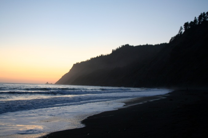 Lost Coast, California, 2009