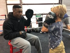 Going to a boxing class together can be a great way to take the edge of things