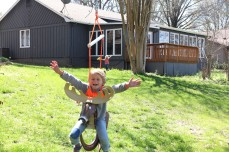 Dyersburg, Tennessee is another nice getaway. Especially if you can find a place with a swing like this