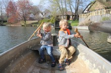 Getting along in a boat is not always a picnic