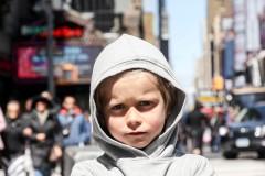 Broadway kid.