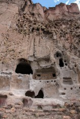 Bandelier dwellings