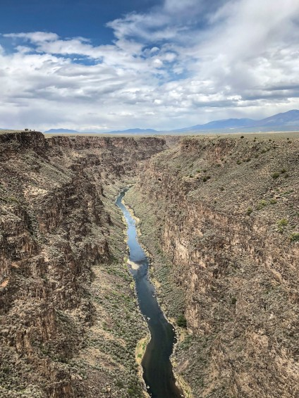 View at Rio Grande from the Gorge bridge