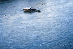 River boat on Rhein, Basel
